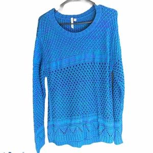 NWOT Orb colourful knit sweater